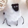 брошка овечка